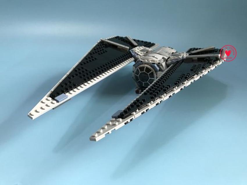 Neue X-flügel KRAWATTE Sturm fit legoings Star wars figuren Modell Gebäude Blocks Bricks diy kit Spielzeug 75154 geschenk kid star wars set