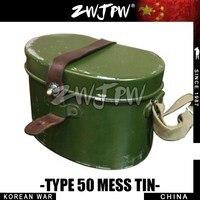 KOREAN WAR KMT ARMY MESS TIN ORIGINAL Surplus Mess Tin Military Canteen Outdoor Lunch Box Army