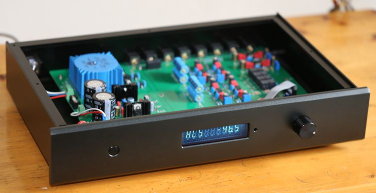 Finished C7 Remote Control Preamplifier Stereo HiFi AD797ANZ Pre-amp Based on MBL6010D Amplifier Circuit finished germany mbl6010d circuit full balance preamplifier good sound amplifier c9