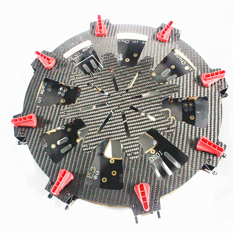 WST FPV Big Drones Parts S1200 Octocoprer Multirotor Accs DIY Center Board Folding Umbrella Interface Suitable DJI S1000 In Accessories From Toys