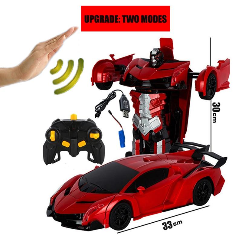 2019 Hot Selling 1/14 Remote Control Car  Gesture Sensor Deformation Rc Cars