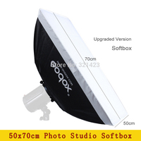 Photo Studio Godox 50x70cm Softbox for Camera Flash Light Diffuser not include Lamp Photography Equipment