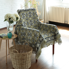 The simple modern sofa towel cover slip cotton lower European Garden sofa cover towels Double Blanket