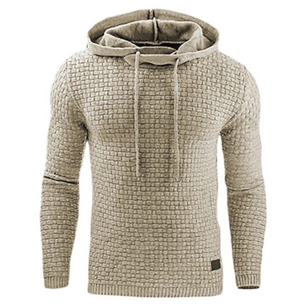 Hoodies Men 2018 Brand Male Long Sleeve Solid Color Hooded Sweatshirt Mens Hoodie Tracksuit Sweat Coat