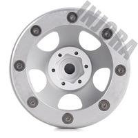 INJORA 1.9 Beadlock Classic Metal Wheel Rim for RC Rock Crawler Axial SCX10 90046 Traxxas TRX4 D90 3