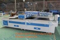 Sealed CO2 Glass Tube metal laser cutting machine price AKJ1530H metal laser cutter exhasut fan air pump