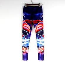 New Fashion 3D Print Big Hero Girls Leggings Allover Print Cartoon Character Women Legging Slim Fitness Pants Rock Skinny Pants