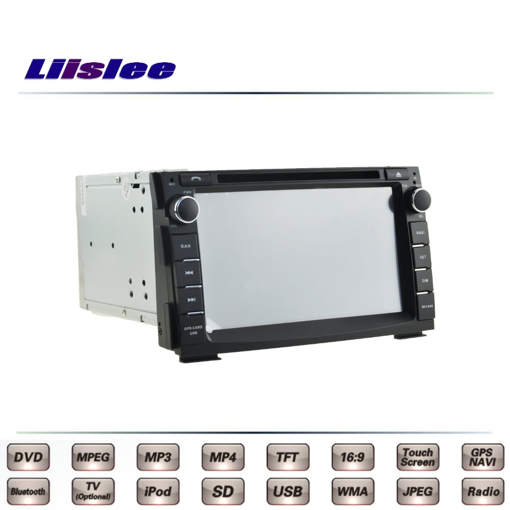цена For KIA Ceed Cee'd ED Pro 2006~2012 Car Multimedia TV DVD GPS Radio Original Style Navigation Liislee Advanced Navi
