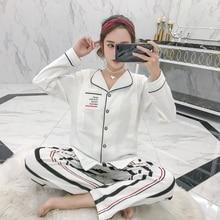 2019 spring Cotton Pajamas Maternity Nursing Nightwear mother card Sleepwear for Pregnant Women Pregnancy pajamas set