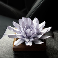 3D Big Size Flower Fondant Cake Silicone Mold Aroma Gypsum Plaster Molds For Car Decoration DIY Clay Crafts Mould