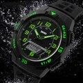 SKMEI Marca de Relojes Deportivos Hombres Digital Resistente Al Agua Relojes de Pulsera hombres Reloj de Cuarzo Reloj de Pulsera 50 M Resistente A los Golpes