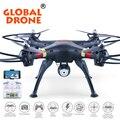 Global drone quadcopter zangão profissional de 6 eixos 2.4g dronegw180 rc pode vir com câmera 2.0mp, Câmera FPV Quadrocopter VS X8C