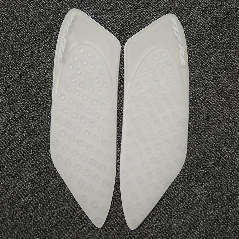 Mtimport For Yamaha Yzf-r6 2006 2007 Yzf R6 Transparent Anti Slip Fuel Tank Pads Side Gas Knee Grip Traction Pads 100% Brand New Commodities Are Available Without Restriction Motorbike Accessories Decals & Stickers