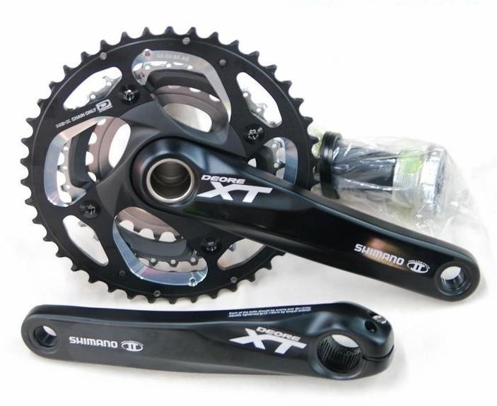 Shimano XT m780 pédalier 20 s 3*10 vitesses vtt manivelle vtt pédalier xt et pédalier vélo manivelle
