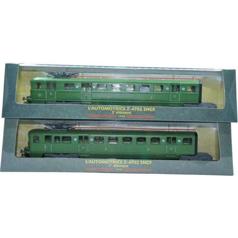 Atlas Train Suit Hot Edition 1:87 Tram Model Diecast Z-4702 (2PCS) Plastic Model Toys for collect