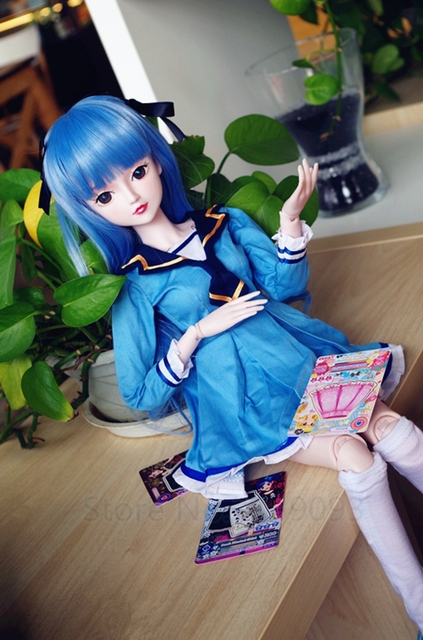 Ye Ro Li Changed Her Makeup Doll 60cm Large Sd/ Bjd Toys Dress Clothes Shoes Makeup  Doll Qian Yao Doll 19 Joints Toys for Girl 5