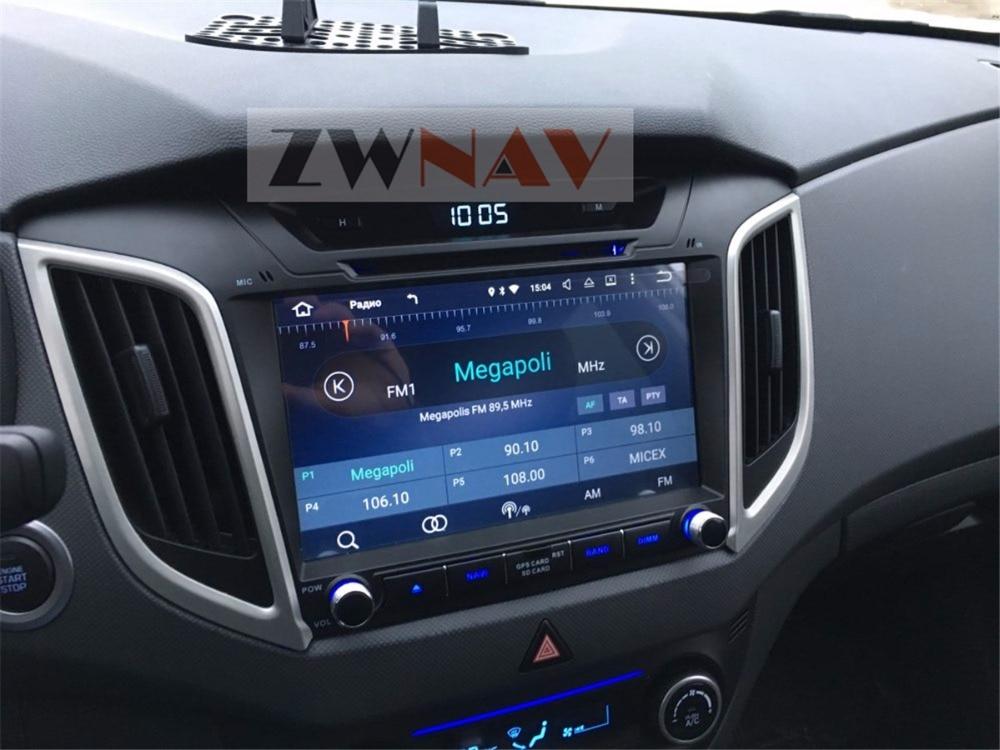 9 Inch 8 Core Android 8.0 4+32GB Car DVD Player GPS Navigation For Hyundai Creta ix25 Car Radio 2014 2018 Free Map And Camera