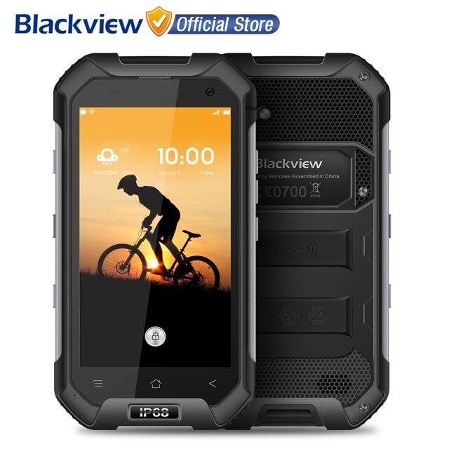Blackview BV6000S 4 г смартфон 4.7 дюймов HD MT6737T Quad Core Android 6.0 2 ГБ Оперативная память 16 ГБ Встроенная память 8MP Cam Водонепроницаемый IP68 мобильного телефона