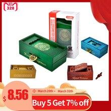 Деревянная головоломка коробка секрет трюк разведки отделение магия Деньги Подарочная коробка Логические развивающие игрушки