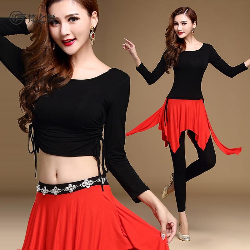 Vatican Dance Belly Dance Leotard 2017 new exercise clothing comfort modal summer suit skirt