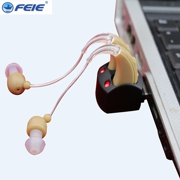 New Rechargeable Ear Hearing Aid S-109S Double Listenig Devices Cheap Aide Auditive behind the ear for deaf elderlyNew Rechargeable Ear Hearing Aid S-109S Double Listenig Devices Cheap Aide Auditive behind the ear for deaf elderly
