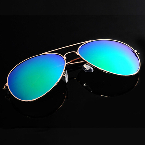 iboode Reflective Pilot Sunglasses for Men Women Cool Finshing Driving Goggles Mirror Luxury Ladies Sun Glasses Brand Designer Islamabad