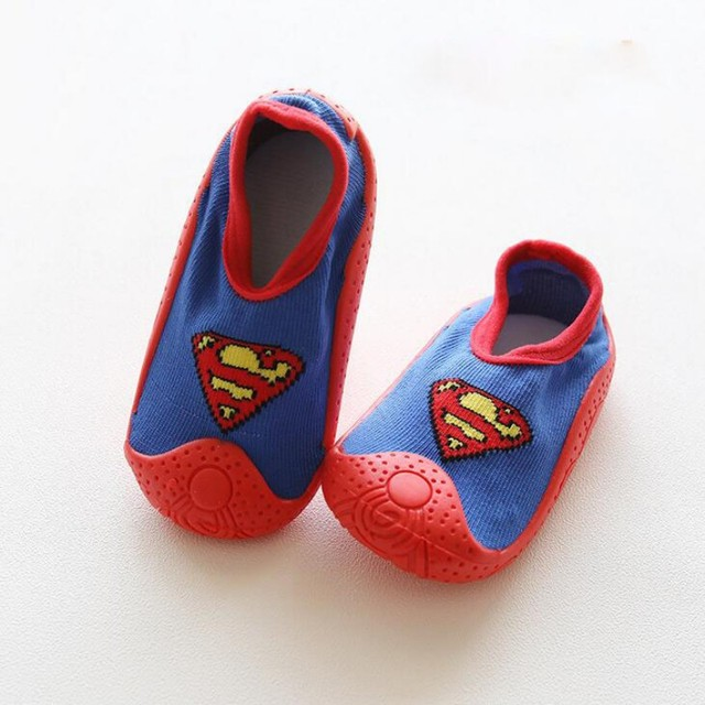 Fashion Cute Newborn Baby Girls Socks Soft Rubber Soles Infant