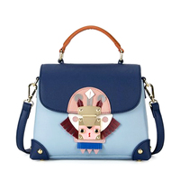 Luxury Design Women Handbag New Fashion PU Leather Messenger Bag for Women Lock Decoration Shoulder Bag Evening Party Clutches
