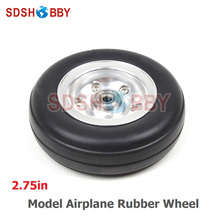 2 75in Rubber Wheel Rubber Tire for Model Aircraft