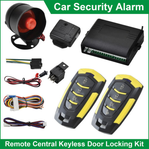 Universal Car Keyless Entry System Security Alarm System Immobiliser