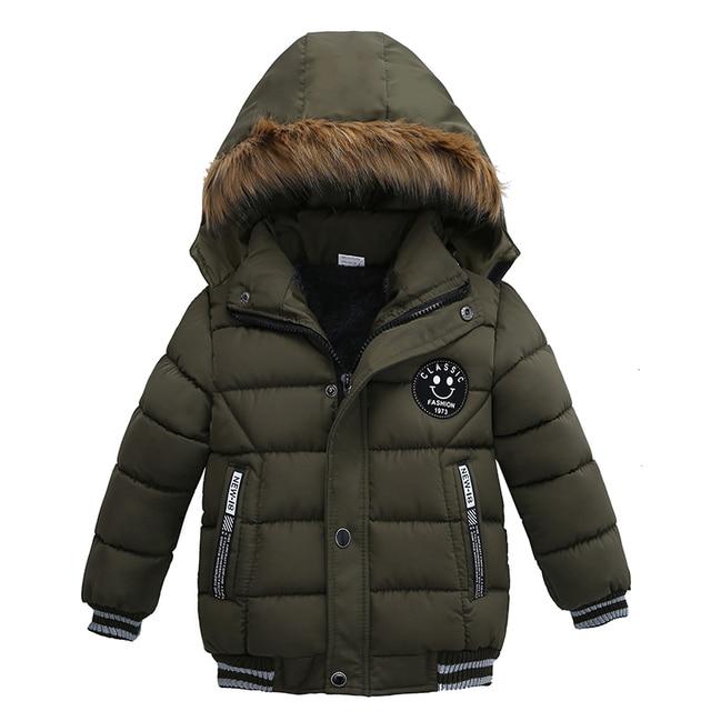 Новый высокое качество 2017 зима ребенок мальчик Пух куртка для больших девочек тонкий теплое пальто От 3 до 7 лет легкая верхняя одежда с капюшоном