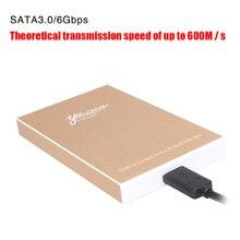 VBNM 2.5″ USB 3.0 Serial Port SATA Metal Mobile External HDD Enclosure Mechanical Solid State Hard Disk Hd Box Support 2TB