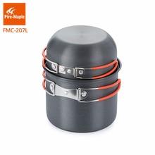 Fire-Maple Backpacking Cookware set Aluminum Alloy Pot for 1-2 Persons Light Weight 195g FMC-207L