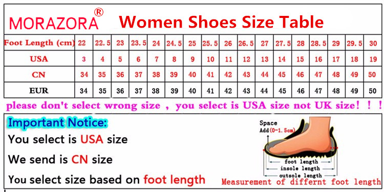 MORAZORA 2020 new hot sale snow boots comfortable flat heel round toe rivets winter shoes keep warm sweet pink ankle boots women 55