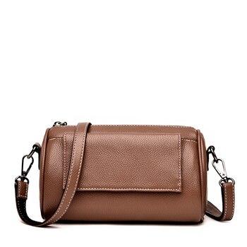 Dropshipping Women Bag High Quality PU Leather Flap Shoulder Bag For Teenage Girls Fashion Office Lady Crossbody Bag For Women