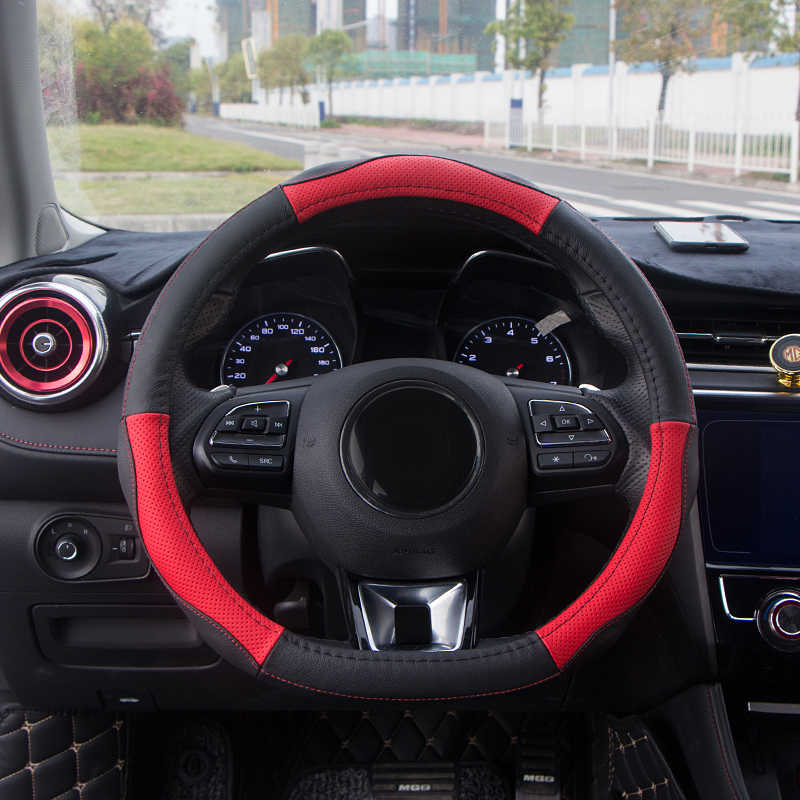 1pc for MG MG6 2018 Steering wheel cover Non-slip