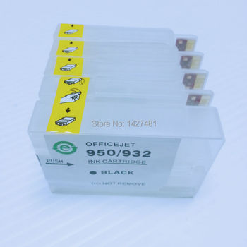 Yotat 1 Unidades Cartucho De Tinta Recargable Vacío Para Hp932 Hp