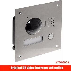 Оригинальный DH-VTO2000A IP металлическая вилла уличная станция видео телефон двери VTO2000A POE уличная станция видео дверной звонок DHI-VTO2000A