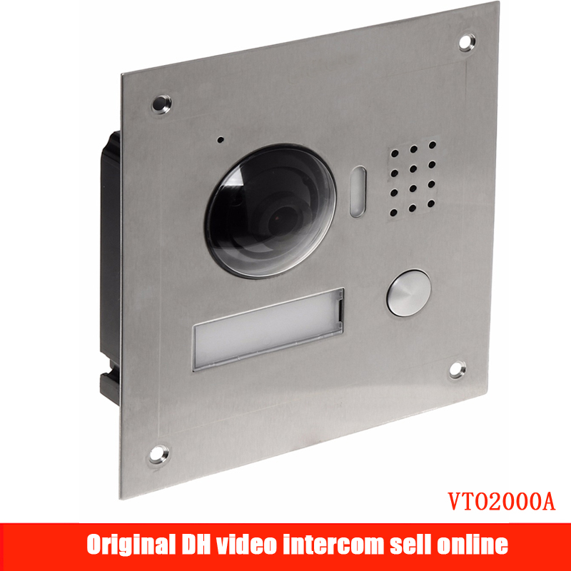Access Control Original Dh-vto2000a Ip Metal Villa Outdoor Station Video Door Phone Vto2000a Poe Outdoor Station Video Door Bell Dhi-vto2000a An Enriches And Nutrient For The Liver And Kidney Security & Protection