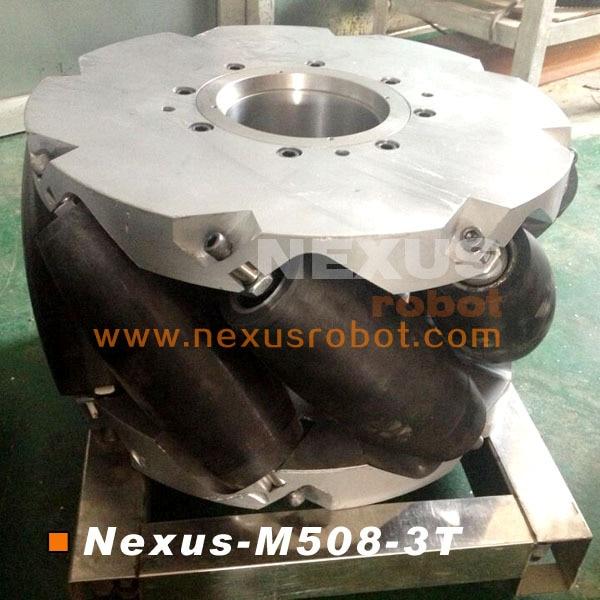 20 Inch Heavy Duty Mecanum Wheel Nexus-M508-3T (Kapasitas Muatan: 3 - Perlengkapan sekolah dan persediaan pelatihan - Foto 4