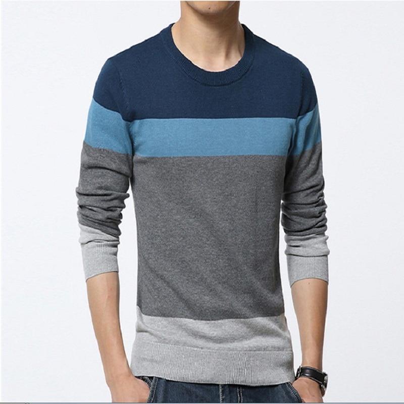 Мужской свитер 2016 Slim fit