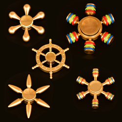 Newest fidget spinner metal brass finger spinner anti stress hand spinner for autism adhd toys gift.jpg 250x250