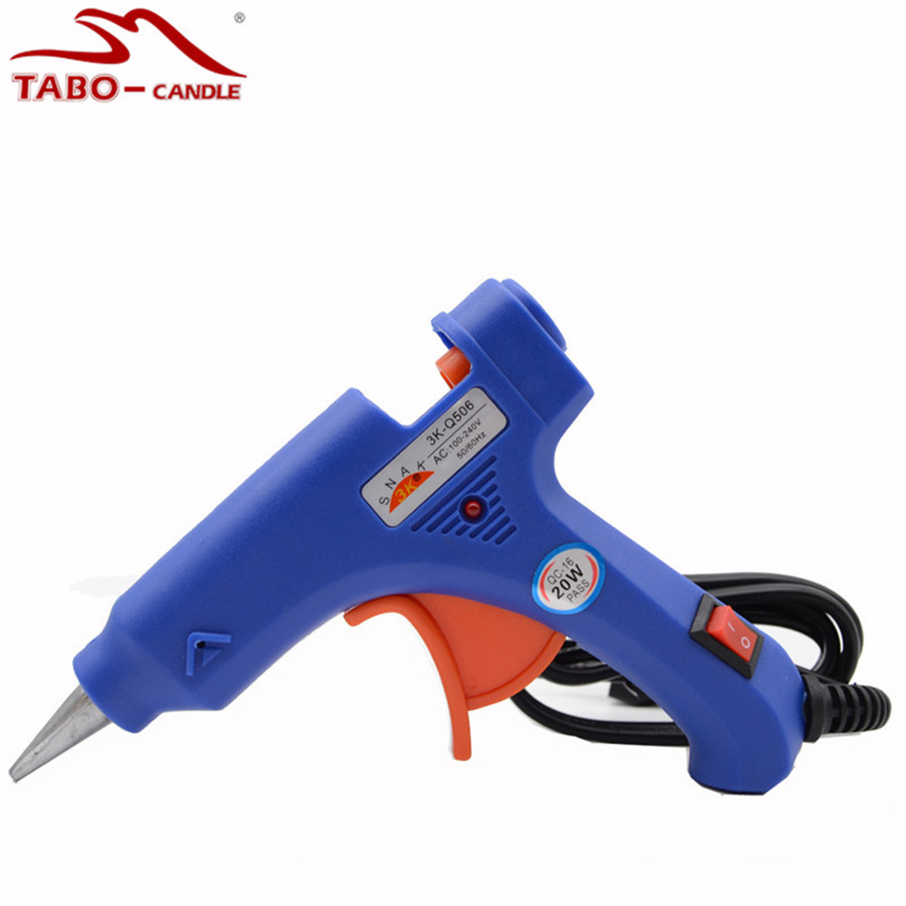 Premium Hot Melting 20W Glue Gun for DIY Arts and Crafts Projects Interior Decorating Purpose Glue Gun for Sealing Wax managing projects made simple