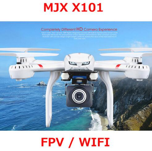 Pre-Order MJX X101 Updated Version X101S Quadcopter 2.4G RC drone/drone rc helicopter 6-axis gyro can add C4018 camera(FPV)