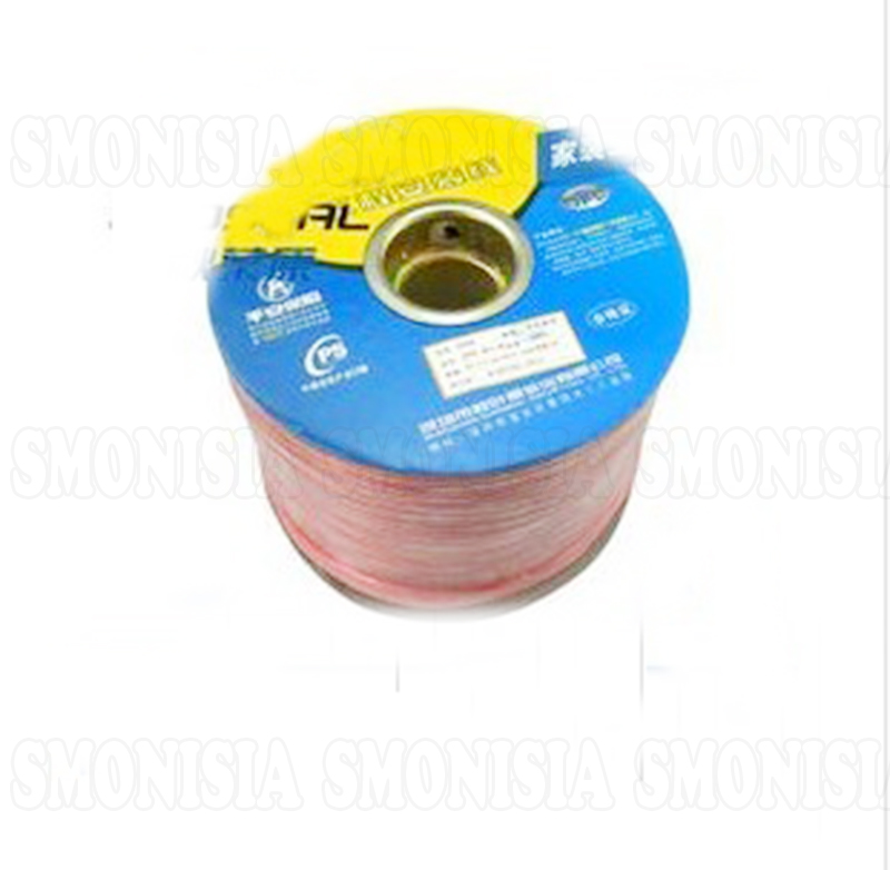 200in *2Pics For Choseal Q-348 Speaker Horn Line Surround Wire With Oxygen-free Copper Shap
