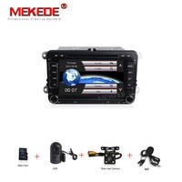 Two Din 7inch Capacitive Screen Car Cassette Audio Video Player For Skoda Octavia Fabia Rapid Yeti