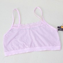 Teenage Underwear For Girls Children Young Training Bra For Kids Teens Girl(China)