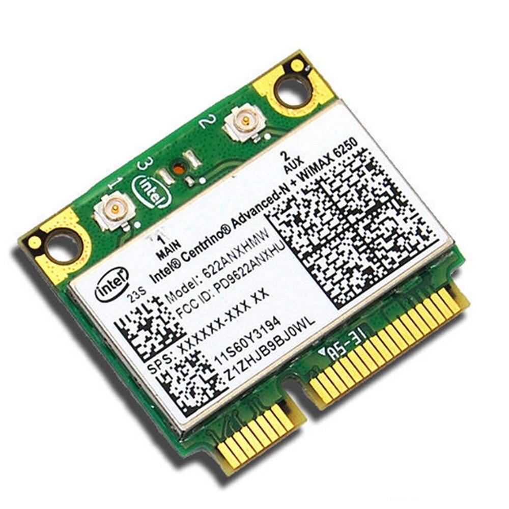 Intel Centrino  Wimax 6250 622ANXHMW 300 Mbps 622anxhwm Wifi Mini Pci-e Intel  Wireless Card Network Card