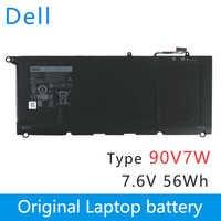 Dell Nuovo Originale batteria Del Computer Portatile di Ricambio per dell XPS 13 9343 9350 13D-9343 JHXPY 0N7T6 90V7W JD25G 7.6V 56WH 90V7W