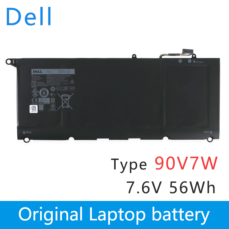 Dell Original New Replacement Laptop Battery For Dell XPS 13 9343 9350 13D-9343 JHXPY 0N7T6 90V7W JD25G 7.6V 56WH  90V7W